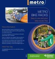 Metro Bike racks - MetroInfo