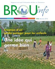 Une idée qui germe bien(page 11) - Brou Sur Chantereine