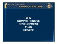 2012 COMPREHENSIVE DEVELOPMENT PLAN UPDATE - Wilmapco