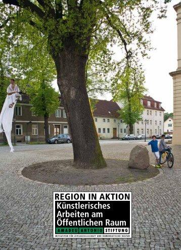 Künstlerisches Arbeiten am Öffentlichen Raum - Region in Aktion