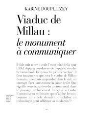 Viaduc de Millau, le monument à communiquer