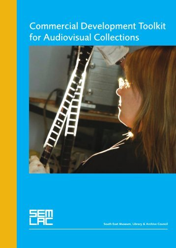 Commercial Development Toolkit for Audiovisual Collections