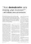 tema: internAtionell utblicK - Sveriges Ekumeniska kvinnoråd - Page 6