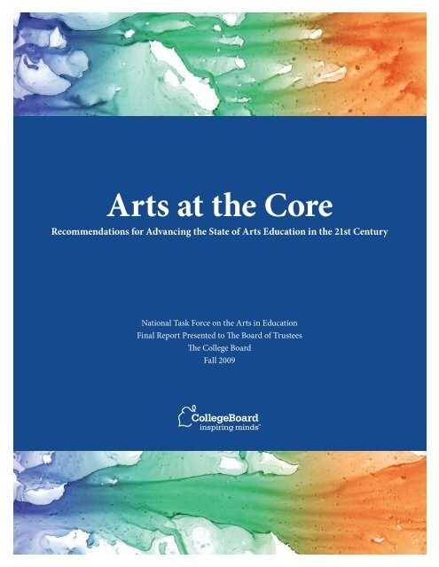 recommendations-arts-education-21st-century-report