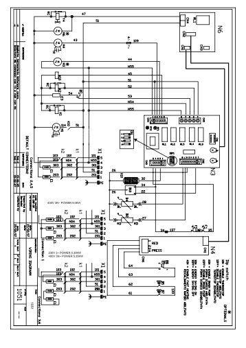 Schemi Elettrici Unifilari Dwg : Nsb schemi elettrici con collegamenti dd aermec