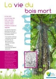 La vie du bois mort.pdf - Environnement - Artois Comm.