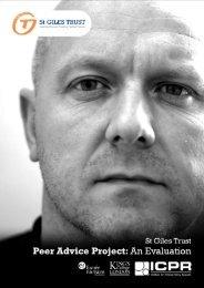 St Giles Trust peer Advice evaluation.pdf - Institute for Criminal ...