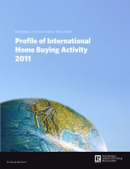 Profile of International Home Buying Activity 2011