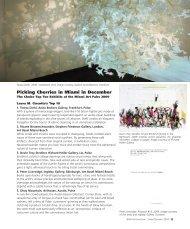 d24 Table of Contents - dart international magazine