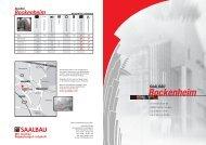 Hausprospekt Bockenheim.indd - Saalbau GmbH