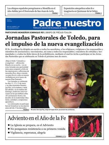 Número 1.245 1-2 de diciembre - Archidiócesis de Toledo