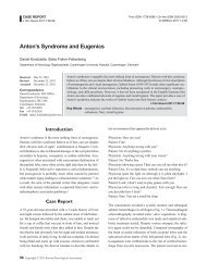 Anton's Syndrome and Eugenics - KoreaMed Synapse