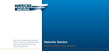 Hatecke Service Make safety your priority - Hatecke Service GmbH