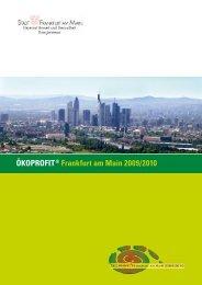 ÖKOPROFIT® Frankfurt am Main 2009/2010 - Saalbau GmbH