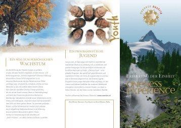 Wachstum JugEnD - Oneness Austria