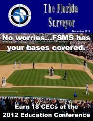 Bench Marks - FSMS