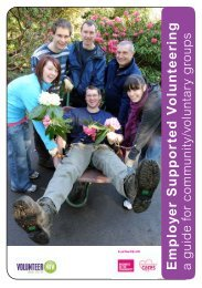 Guide for Voluntary & Community Groups - Volunteer Now