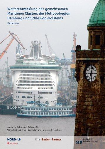 Weiterentwicklung des gemeinsamen Maritimen Clusters der ...