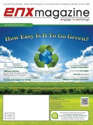 July 2013 Issue in PDF - ENX Magazine