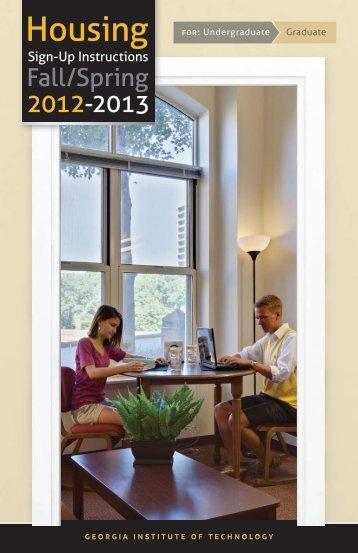 Undergraduate Graduate - Georgia Tech Housing