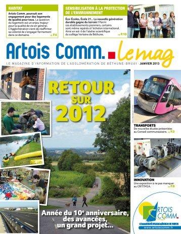 Transports en commun - Artois Comm.