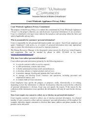 please click here - Coast Wholesale Appliances