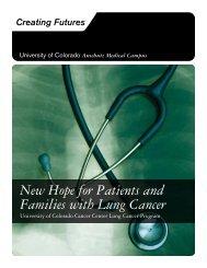 Lung Cancer - University of Colorado Foundation