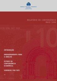 RELAtÓRIO DE CONVERGÊNCIA MAIO 2008 - Faculdade de Direito