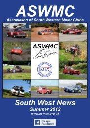 Summer newsletter - Association of South Western Motor Clubs