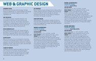 WEB & GRAPHIC DESIGN - Delaware College of Art and Design