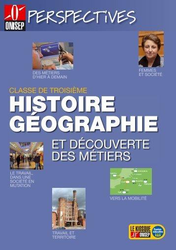 Histoire-géographie et découverte des métiers - Onisep