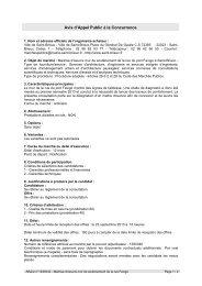 Avis d'Appel Public à la Concurrence - Saint-Brieuc