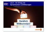 LILO – Ihr Erfolg mit dynamischen Lichtlösungen - Osram