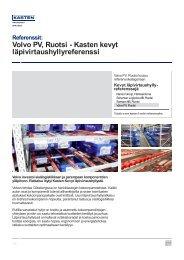Volvo PV, Ruotsi - Kasten