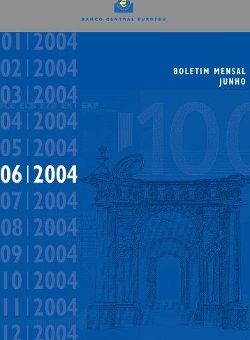 B.Mensal BCE - junho 2004