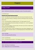 Information om program, boende, anmälan etc - Institutionen för ... - Page 4