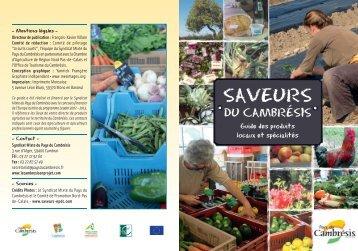 Télécharger le guide - Pays du Cambrésis