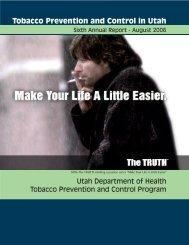 2006 - Utah Tobacco Prevention and Control Program