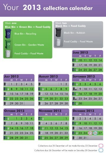 West Area Calendar (purple) pdf