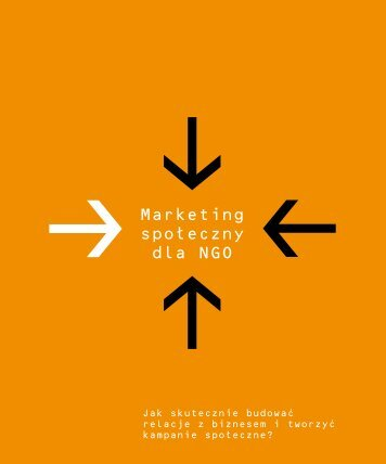 Marketing spoleczny dla NGO