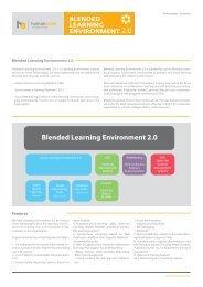 Blended Learning Environment 2.0 - Human Asset