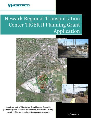 Newark Regional Transportation Center TIGER II ... - Wilmapco