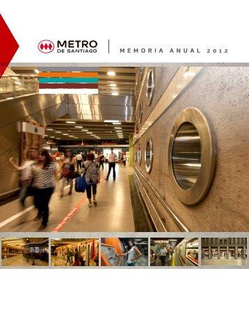 Memoria Anual - Metro de Santiago