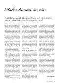 temA: böcKer och AKAdemi - Sveriges Ekumeniska kvinnoråd - Page 5