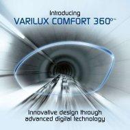 VARILUX CoMfoRT 360º™ - Luzerne Optical Laboratories