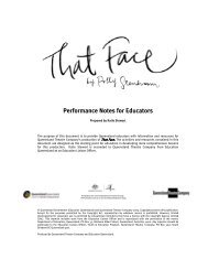 That Face - Queensland Theatre Company