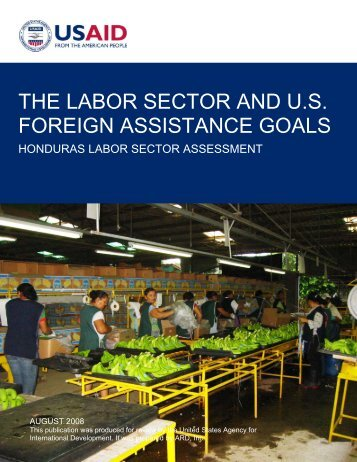 the labor sector and us foreign assistance goals - GLaSAI