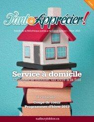 Télécharger l'édition électronique du Tant à Apprécier (PDF)