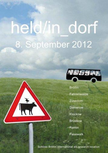 held/in_dorf - Region in Aktion