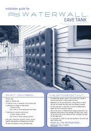 EAVE TANK - Savewater.com.au